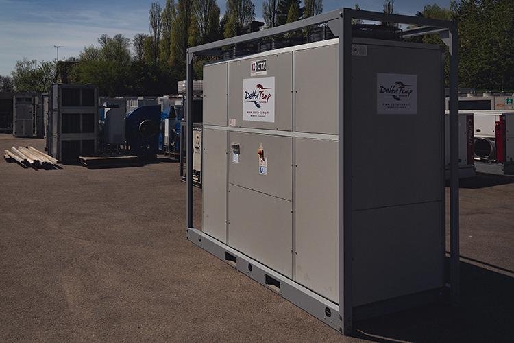 Groupe de production eau glacée de 100 kW