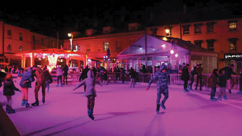 Prestation Patinoire de Noël - Location Groupe Froid