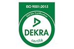 Certification ISO 9001:2015 - DEKRA
